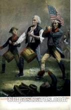 amr001088 - Yankee Doodle, 1776 American History Postcard Post Card