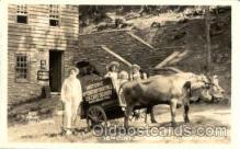 and000009 - 18th Century Grist Mill - Norris Tenn, USA Advertising Animal Drawn Postcard Post Card
