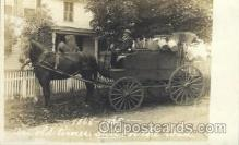 and000017 - Peddlers Wagon Photographer Collinsville, Conn. USA, Animal Drawn Postcard Post Card