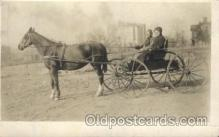 and000097 - Horse wagon Animal Drawn Postcard Post Card