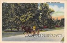 and000114 - Familiar Highway Scene  Postcard Post Card