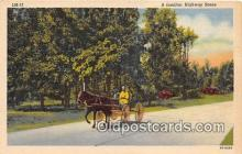 and000115 - Familiar Highway Scene  Postcard Post Card
