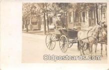 and000116 - Horse Carriage  Postcard Post Card