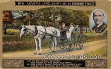 and000134 - Lover's Lane, Saint Jo Eugene Field Postcard Post Card