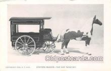 and000136 - Station Wagon Gay Nineties, Transportation Postcard Post Card