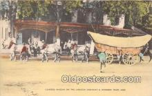 and000145 - Covered Wagon Lincoln Highway, Hundred Years Ago Postcard Post Card