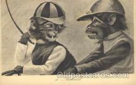 ani001110 - Monkey Animal Postcard Post Card