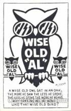 ani001131 - Owl Animal Postcard Post Card