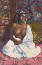 arb001026 - Arab Nude Nudes Postcard Post Card