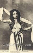 arb003183 - Egyptian Dancer Arab Nude Old Vintage Antique Post Card Post Card