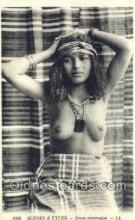 arb003185 - Jeune Mauresque Arab Nude Old Vintage Antique Post Card Post Card