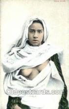 arb003203 - Fille Arabe Arab Nude Old Vintage Antique Post Card Post Card