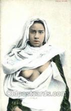 arb003203 - Fille Arabe Arab Nude Old Vintage Antique Post Card Post Card
