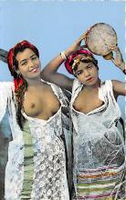 arb003242 - Danseuses dans le Sud Arab Nude Postcard