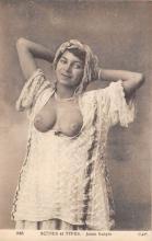 arb003263 - Scenes et Types Arab Nude Postcard