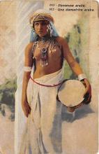 arb003336 - Una Dansatrice arabs Arab Nude Postcard