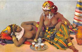 arb003363 - Arab Nude Postcard