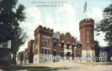 arm001002 - G.N.G.N.Y. Gloversville, NY USA Armory Post Card Post Card