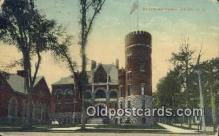 arm001007 - Utica New York, NY USA State Armory Post Card Post Card
