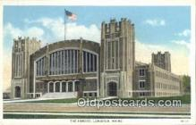 arm001008 - Lewiston, Maine, ME, USA Armory Post Card Post Card