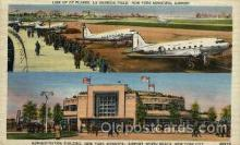 arp001013 - Administration Building, New York Municipal Airport, New York City,NY USA Airport, Airports Post Card, Post Card