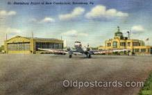 arp001019 - Harrisburg Airport, New Cumberland, Harrisburg, PA USA Airport, Airports Post Card, Post Card