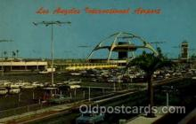 arp001024 - La International Airport, Los Angeles, CA USA Airport, Airports Post Card, Post Card