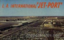 arp001025 - La International Airport, Los Angeles, CA USA Airport, Airports Post Card, Post Card
