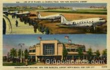 arp001036 - Administration Buildind New York Municipal Airport, North Beach, New YORk City, NY USA Airport, Airports Post Card, Post Card