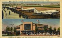arp001048 - Administration Building, New York Municipal Airport, New York City,NY USA Airport, Airports Post Card, Post Card