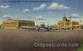 arp001063 - Harrisburg Airport, New Cumberland, Harrisburg, PA USA Airport, Airports Post Card, Post Card