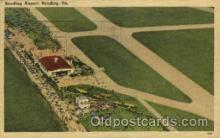arp001068 - Reading Airport, Reading, PA USA Airport, Airports Post Card, Post Card