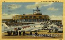 arp001079 - La Guardia Field, New York, NY USA Airport, Airports Post Card, Post Card