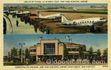 arp001080 - Administation Building New York Municipal Airport, North Beach, NYC, NY USA Airport, Airports Post Card, Post Card