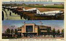 arp001081 - Administration Building, New York Municipal Airport, New York City,NY USA Airport, Airports Post Card, Post Card