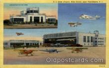 arp001082 - RI State Airport, Hills Grove, Providence, RI USA Airport, Airports Post Card, Post Card