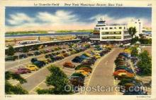 arp001089 - La Guardia Field, New York, NY USA Airport, Airports Post Card, Post Card