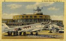 arp001094 - La Guardia Field, New York, NY USA Airport, Airports Post Card, Post Card
