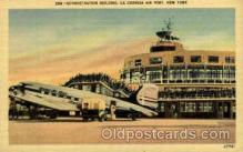 arp001096 - Administration Building, La guardia Ariport, New York City, NY USA Airport, Airports Post Card, Post Card