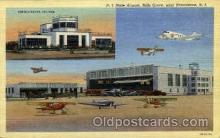 arp001099 - RI State Airport, Hills Grove, Providence, RI USA Airport, Airports Post Card, Post Card