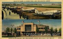 arp001100 - La Guardia Field, New York, NY USA Airport, Airports Post Card, Post Card