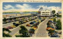 arp001101 - La Guardia Field, New York, NY USA Airport, Airports Post Card, Post Card