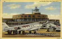arp001103 - La Guardia Field, New York, NY USA Airport, Airports Post Card, Post Card