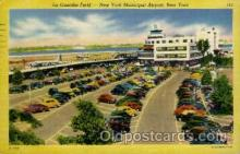 arp001105 - La Guardia Field, New York, NY USA Airport, Airports Post Card, Post Card