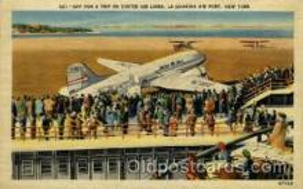 arp001114 - La Guardia Airport, Flushing Queens, NY USA Airport, Airports Post Card, Post Card