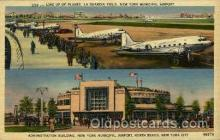 arp001115 - Administration Building, New York Municipal Airport, New York City,NY USA Airport, Airports Post Card, Post Card