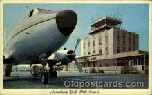 arp001117 - Harrisburg York State Airport Airport, Airports Post Card, Post Card