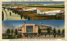 arp001124 - Administation Building New York Municipal Airport, North Beach, NYC, NY USA Airport, Airports Post Card, Post Card