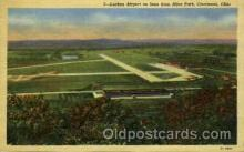 arp001125 - Lunken Airports, Cincinnti, OH USA Airport, Airports Post Card, Post Card