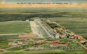 arp001129 - Kelley Field San Antonio Air Depot, San Antonio, TX USA Airport, Airports Post Card, Post Card